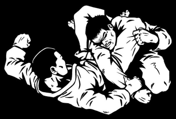 Ground Fighting BJJ Grappling Submission Wrestling Judo Ju